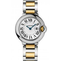 Cartier Ballon Bleu Ladies 28mm Automatic in 2 Tone