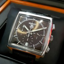 TAG Heuer Monaco Chrono brown dial CW2114