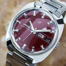 Enicar Automatic Swiss Made Red Dial Men's Dress Watch  L172