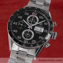 TAG Heuer Carrera Day-date Chronograph Automatik Stahl Cv2a10