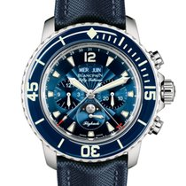 Blancpain [NEW] Fifty Fathoms Complete Calendar Flyback...