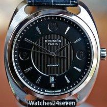Hermès Dressage Quantieme Automatic Date Stainless 40mm