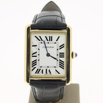 Cartier Tank Solo Big Large 28mm 18K YellowGold (B&P2013)...