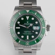 """Rolex Submariner Date """"Hulk"""" 5 Year Warranty"""