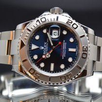 Rolex Yacht-Master  blue 116612 40mm box and papers 2015