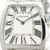 Cartier Polished Cartier La Dona Lm Steel Quartz Ladies Watch...