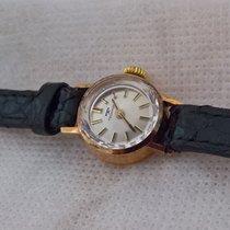 Technos vintage 14ct golden, serviced