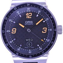 Oris Mans Automatic Wristwatch Williams F1 Team Day Date