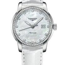 Longines New Ladies Saint-Imier L25630872 Diamond MOP Watch...