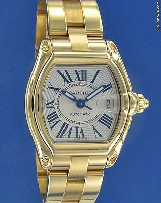 Cartier Roadster Yellow Gold NEW! -- ON HOLD --