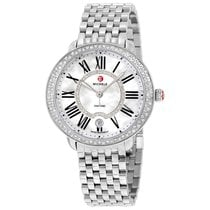 Michele Serein Mother of Pearl Dial Stainless Steel Ladies Watch
