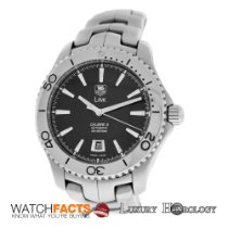 TAG Heuer Authentic Men's  Link Caliber 5 WJ201A Steel...