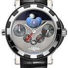 Dewitt Academia Quantieme Perpetual GMT Nebula Mens Watch