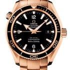 Omega Seamaster Planet Ocean Co-Axial 600m Gold Bracelet