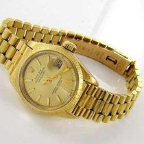 Rolex Datejust Damenuhr18kt Gold 750er 6927  Papiere