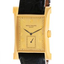 Patek Philippe Pagoda 18k Yellow Gold Limited Watch 5500j Papers
