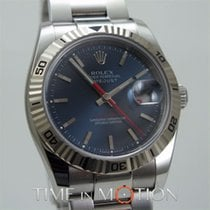 Rolex Perpetual Datejust Turn-O-Graph 116264 Bleue Full Set