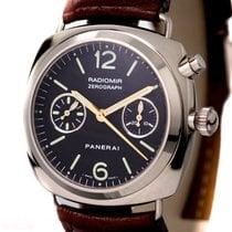 Panerai Zerograph PAM 00067 18k White Gold Lemania Caliber...