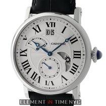 Cartier Rotonde De Cartier Retrograde Time Zone Steel 42mm...