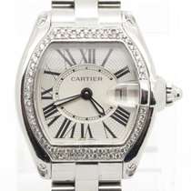 Cartier Roadster 2675 Lady's Quartz Watch With Diamond Bezel