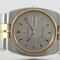 Omega Constellation Or & Acier Jumbo Day Date Automatique