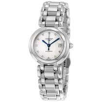 Longines PrimaLuna Automatic Mother Of Pearl Dial Stainless...