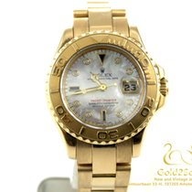 Rolex Yacht-Master Mother of Pearl with Diamonds and Blue...