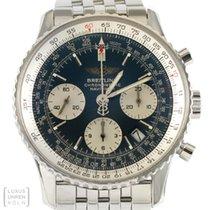 Breitling Uhr Navitimer Pilotband Edelstahl Automatik Ref....