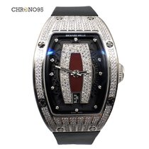 Richard Mille RM 007 Ladies Red Dial Top Paved Diamond