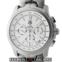TAG Heuer Link Caliber 36 El Primero Chronograph Stainless...