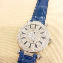 Franck Muller Ronde  42 Double Mystery Diamond Blue