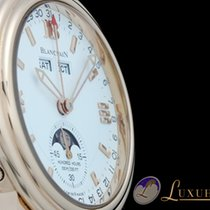 Blancpain Leman Calendar Mondphase Day-Date 18kt Rotgold