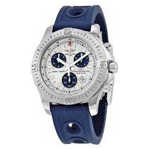 Breitling Colt Chronograph Silver Dial Quartz Men's Watch