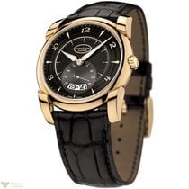 Parmigiani Fleurier Kalpa Tonda Rose Gold Black Dial Men's...