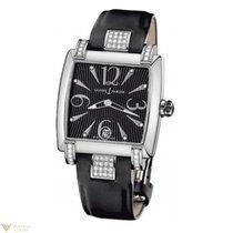 Ulysse Nardin Caprice Stainless Steel Diamonds Satin Ladies Watch