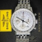 Breitling Navitimer Chronograph Stainless Steel Silver Dial...