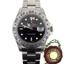 Rolex Explorer II Acciaio Quadrante Nero Ref. 16570