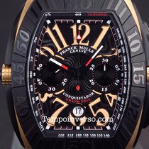 Franck Muller Conquistador grand prix rose gold full set 9900...