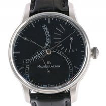 Maurice Lacroix Masterpiece Calendrier Retrograde Stahl...