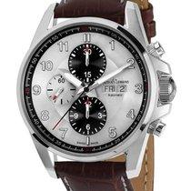 Jacques Lemans 1-1750B ETA 7750 Automatik Chrono grau-braun...