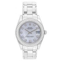Rolex Midsize Masterpiece/Pearlmaster Diamond Watch 81339