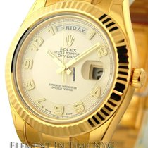 Rolex Day-Date II 18k Yellow Gold Day-Date 41mm Ref. 218238