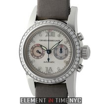Girard Perregaux Small Chronograph Collection Ladies 18k White...