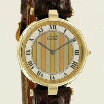 Cartier Must de Paris Vermeil Ronde Gold Plated