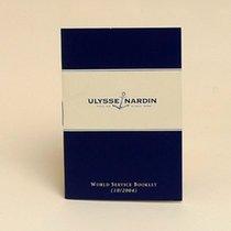 Ulysse Nardin Service Booklet