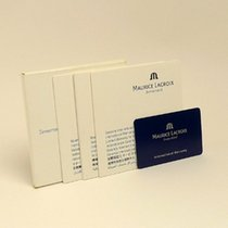 Maurice Lacroix Booklet Service Set + Warranty card