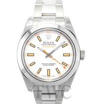 Rolex Milgauss White/Steel Ø40mm - 116400