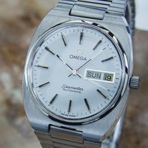 Omega Seamaster Swiss Made 1970s Vintage Stainless Men's...