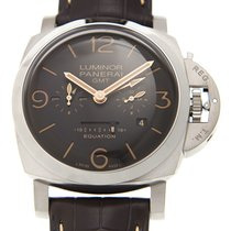 Panerai New  Luminor Titanium Brown Manual Wind PAM00656