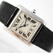 Cartier TANK FRANCAISE 18K  WHITE GOLD AUTOMATIC